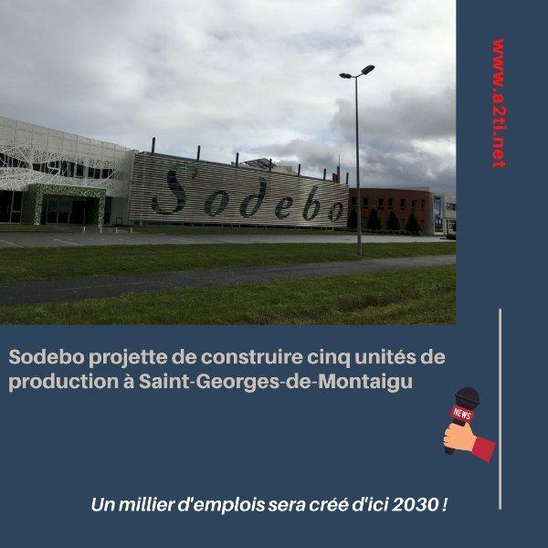 Actualité A2Ti en Vendée Sodebo